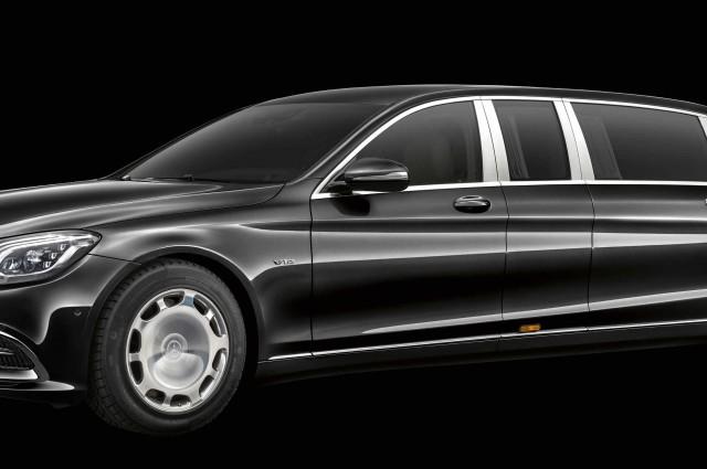 Range Rover, Mercedes - Maybach, W222, W221, Pullman