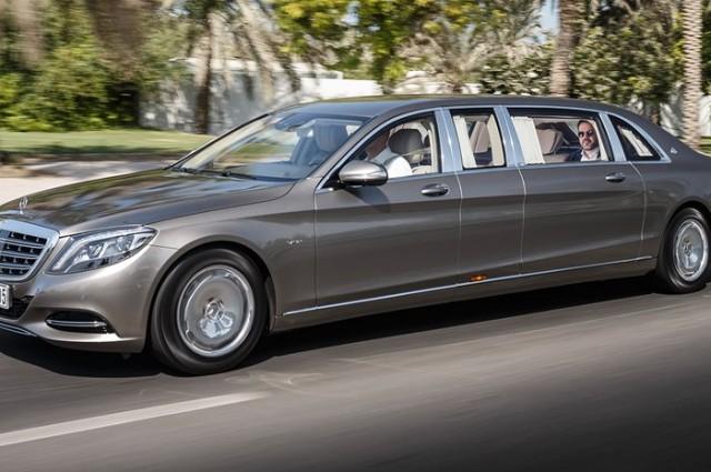 Renge Rover, Mercedes-Benz Pullman