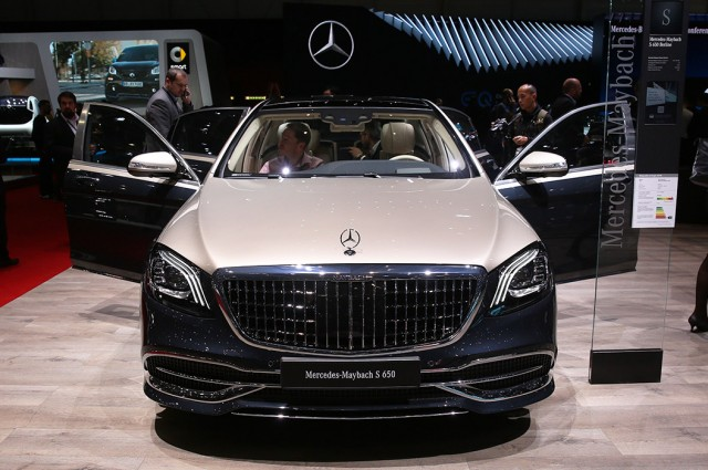 Mercedes-Benz W 221, Mercedes-Maybach
