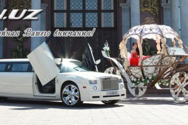 Лимузины на свадьбу.